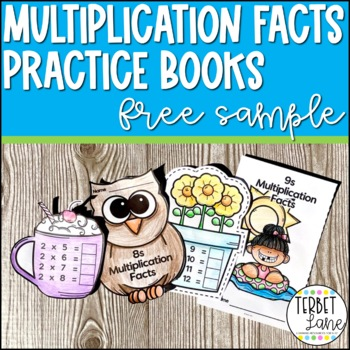 Multiplication Facts Practice Books Free Sample