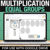 Multiplication Facts Practice - Equal Groups Google Classr