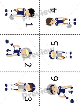 Multiplication Facts Practice: Fantastic Football Draft Game