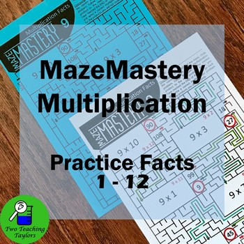 Multiplication Facts Practice: MazeMastery