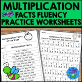 Multiplication Facts Worksheets and Problems of the Week Schedules