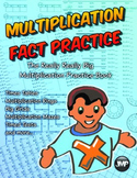 Multiplication Facts Practice Really Really Big Book