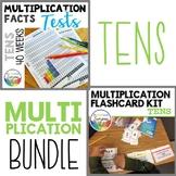Multiplication Facts Practice Tests Bundle TENS