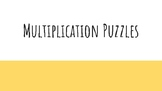 Multiplication Facts Puzzle