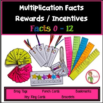 Multiplication Facts REWARDS / INCENTIVES - Facts 0-12