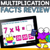 Multiplication Boom Cards | Boom Learning | Distance Learning