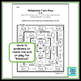 Multiplication Facts Review Worksheet 3s & 4s
