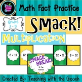 Math Fact Practice -Multiplication- SMACK! Game