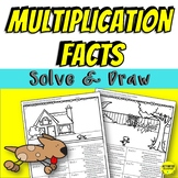 Multiplication Facts Color By Answer