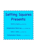 Multiplication Facts Challenge - Perfect Squares Prerequistes
