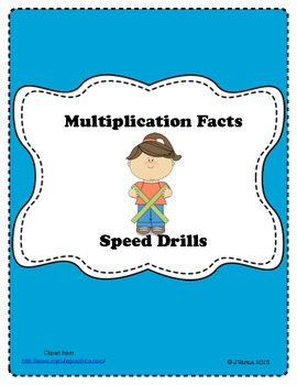 Multiplication Facts Speed Drills