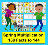 Spring Math: Multiplication Facts