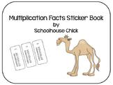 Multiplication Facts Sticker Book