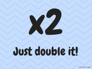 Multiplication Facts Strategies Posters - Pastel Theme