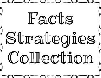 Multiplication Facts Strategies Posters for Everyday Math v4