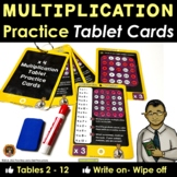Multiplication Practice Cards Write On Wipe Off