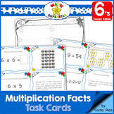 Multiplication Facts Task Cards - 6's times table
