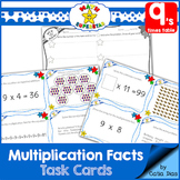 Multiplication Facts Task Cards - 9's times table