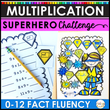Multiplication Facts: The Superhero Challenge