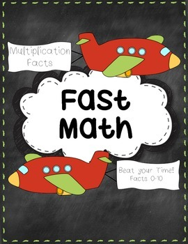 Multiplication Facts- Timed Tests
