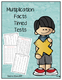 Multiplication Facts Timed Tests