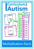 Multiplication Facts Times Tables 2-10 Autism Special Education