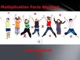 Math Facts Workout: Multiplication