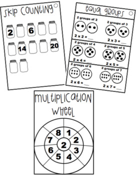 Multiplication Facts Workbook - 5 times tables