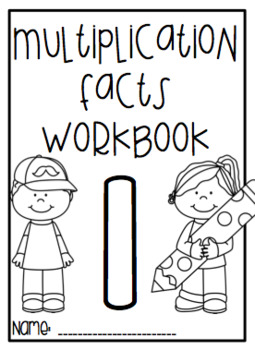 Multiplication Facts Workbook - one facts