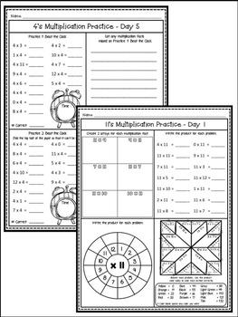 multiplication facts worksheets anchor charts multiplication strategies. Black Bedroom Furniture Sets. Home Design Ideas