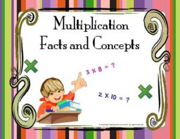 Third Grade Multiplication (common core aligned)