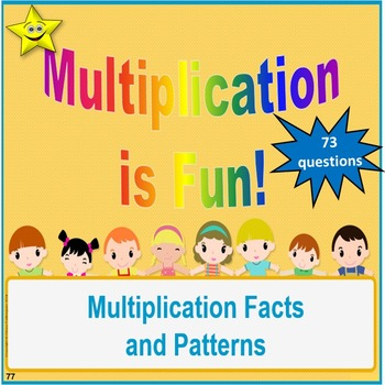 Multiplication Facts and Patterns Review and Test Prep