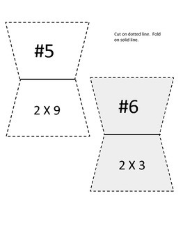 Multiplication Facts and Riddle Game X 2 FREEBIE