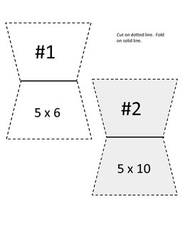 Multiplication Facts and Riddle Game X 5 FREEBIE