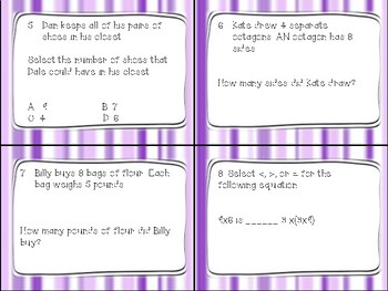 Go Math Chapter 4- Multiplication Facts and Strategies