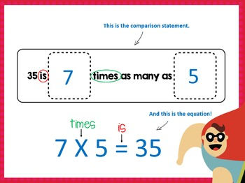 Multiplication Facts as Comparison Groups- 4.OA.1