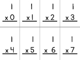 Multiplication Facts (double sided)