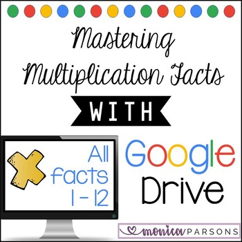 Multiplication Facts for Google Drive