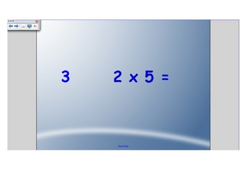 Multiplication Facts for Smart Response-Two's
