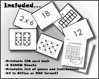 Cat Math for Understanding - Multiplication Flash Cards & Games