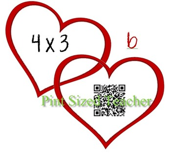 Multiplication Facts using QR Codes