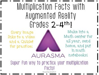 Multiplication Facts with Augmented Reality!