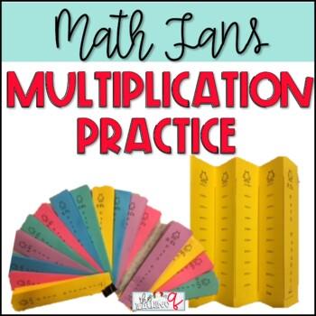 Multiplication Fact Fluency Fans Partner Work