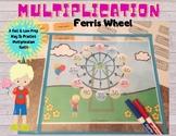 Multiplication Ferris Wheel - A Low Prep Way To Practice T