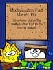Multiplication File Folder Game - 11's