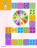 Multiplication File Folder Game for tables 6, 7, 8, and 9