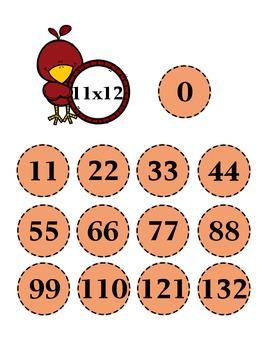 Multiplication File Folder Games- 12 sets