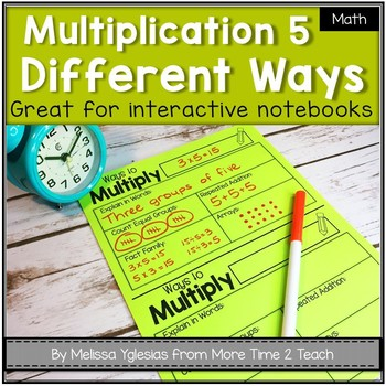 Multiplication Five Different Ways