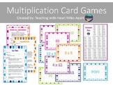Multiplication Flash Card Games