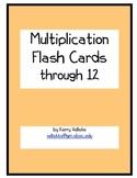 Multiplication Flash Card Practice
